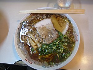 """Tonkotsu + shoyu"" not only did the ..."