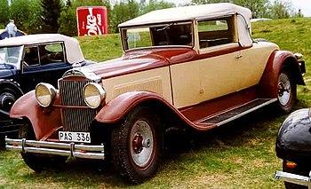 Packard Seventh Series 733 Standard Eight Conv...