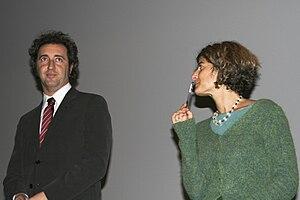 Italian film director and screenwriter Paolo S...