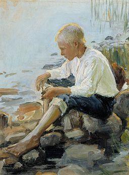 Pekka Halonen - Poika rannalla