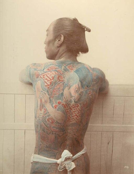 Raimund von Stillfried-Rathenitz - A Tattooed Man
