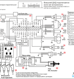 example of wiring diagram of the secu 3t unit for controlling of simultaneous or semi [ 1722 x 1249 Pixel ]