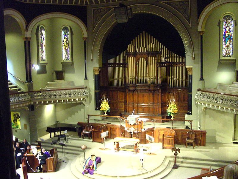 An Australian church at Easter