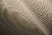text, pages, open book