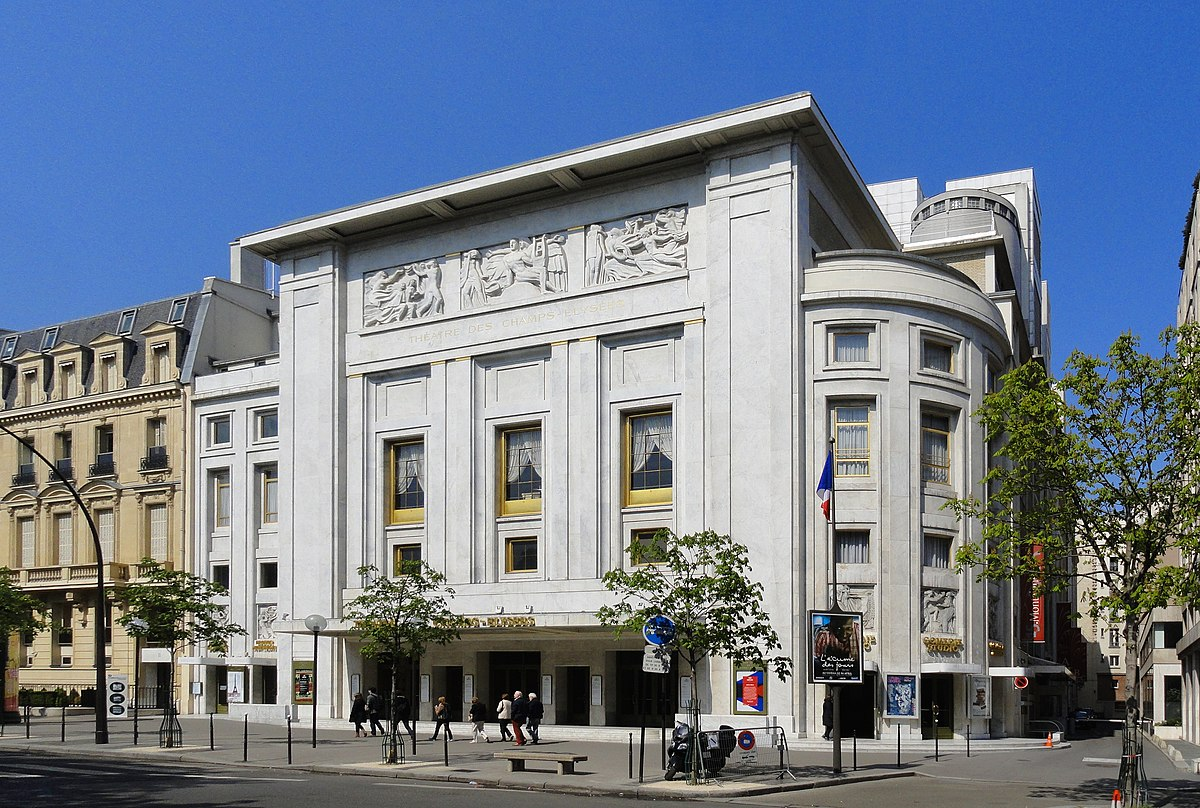 theatre des champs elysees wikipedia