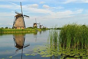 Windmühlen vonKinderdijk