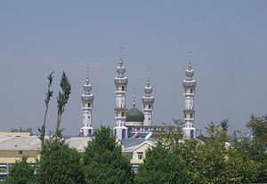 English: A mosque in Wuzhong,Ningxia, China.