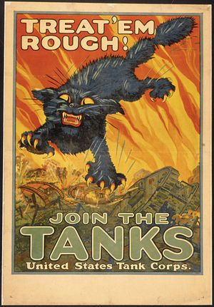 """""""Treat'em Rough^ Join The Tanks. United S..."""