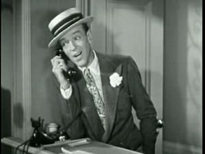 Movie screenshot of Fred Astaire in Second Chorus