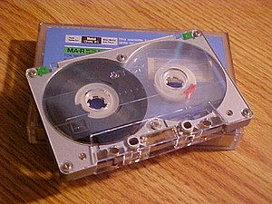 . Cassette Tape, picture taken by User:Seth Il...