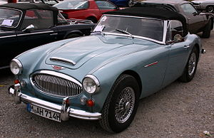 English: Austin Healey 3000 BJ8 - Year 1967 De...