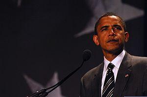 U.S. Senator Barack Obama, Democratic Party Pr...