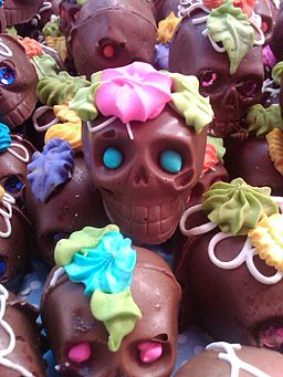Calaveritas de chocolate 1