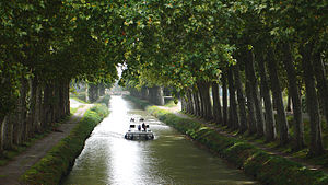 Canal du Midi in southern France