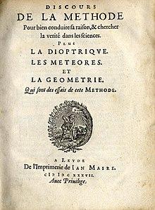 Je Pense Donc Je Suis Explication Simple : pense, explication, simple, Discourse, Method, Wikipedia