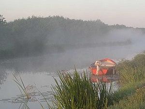 Zoeterwoude Denkrahm Nederland Holland boat fo...