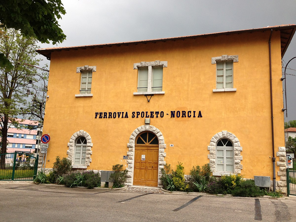 Ferrovia SpoletoNorcia  Wikipedia