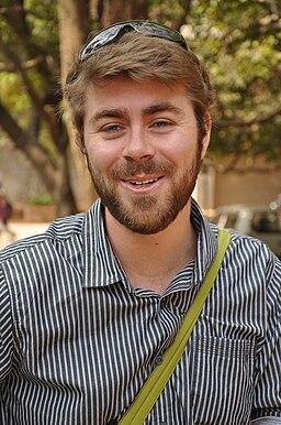 Liam Wyatt in India
