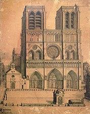 L'histoire De Notre Dame De Paris : l'histoire, notre, paris, Cathédrale, Notre-Dame, Paris, Wikipédia