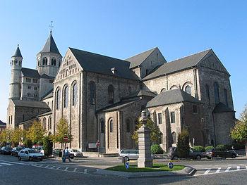 Nivelles (Belgium), the romanesque St. Getrude...