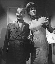 Norma Pons y Fidel Pintos en la película El bulín.