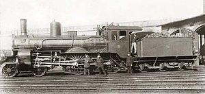 English: Prussian steam locomotive S3 Stettin ...