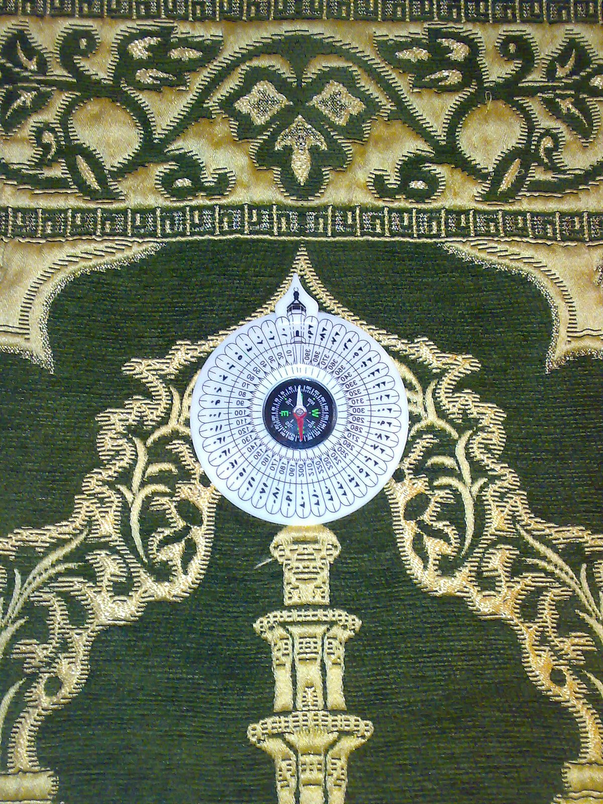 What Direction Do Muslims Pray : direction, muslims, Qibla, Compass, Wikipedia
