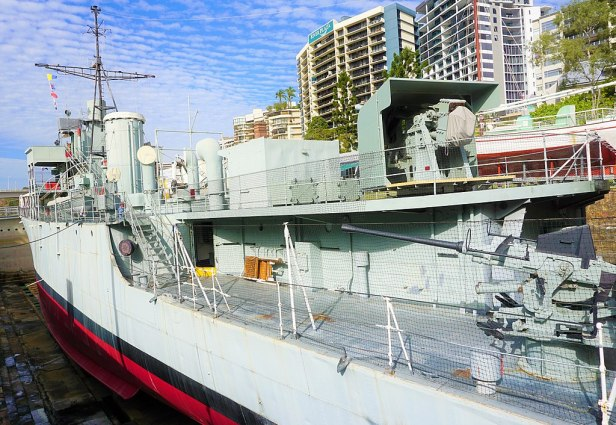Queensland Maritime Museum - Joy of Museums - HMAS Diamantina (K377) 2