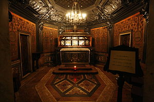 English: The Crypt of Saint Charles Borromeo (...