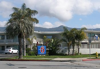 English: Motel 6 No. 1, which opened in 1962 i...