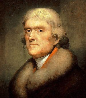 Thomas Jefferson by Rembrandt Peale: (1805) [c...