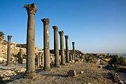 Ruinas romanas en Umm Qais.