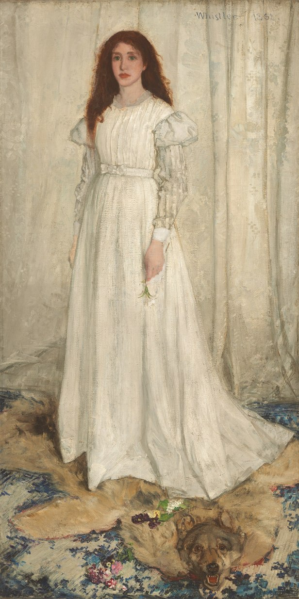 """Symphony in White, No. 1"" by James Abbott McNeill Whistler"