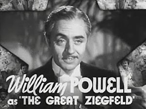 Cropped screenshot of William Powell as Floren...