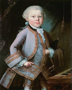 Infos: Painting commissioned by Leopold Mozart...
