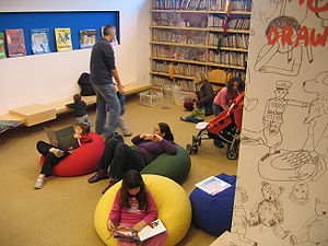 Library of illustrated children's books