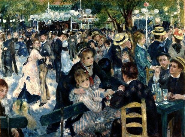 Auguste Renoir - Dance at Le Moulin de la Galette - Musée d'Orsay