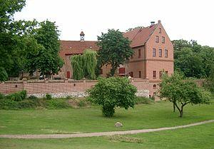 Deutsch: Die Burg Penzlin (Landkreis Müritz, M...