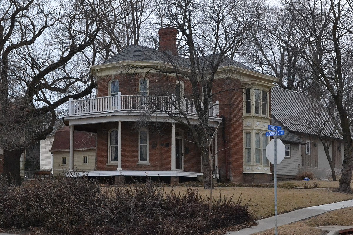 Clinton House Liberty Missouri  Wikipedia