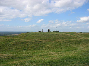 The summit of the Hill of Tara