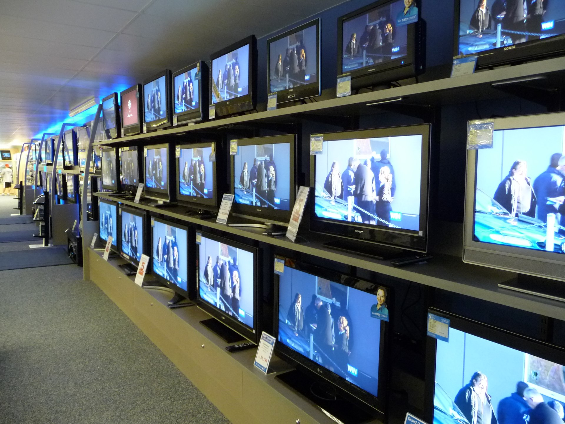 Inch Tv Flat Dimensions Screen 40