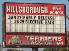Hillsborough High School Tampa Florida Wikipedia