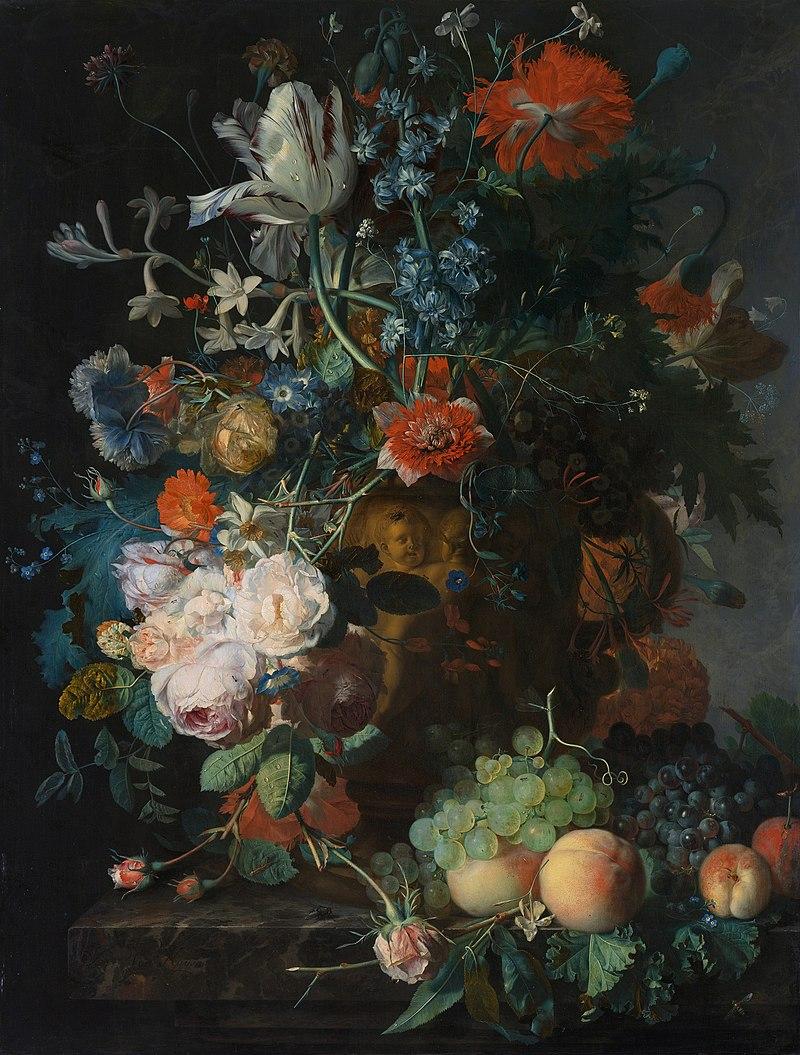 Jan van Huysum - Flower & Fruits