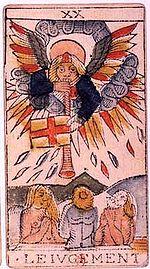Judgement Tarot Card and puer aeternus