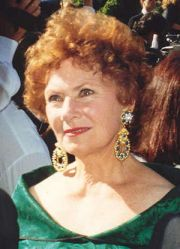 Marion Ross on the red carpet at the 1992 Emmy...