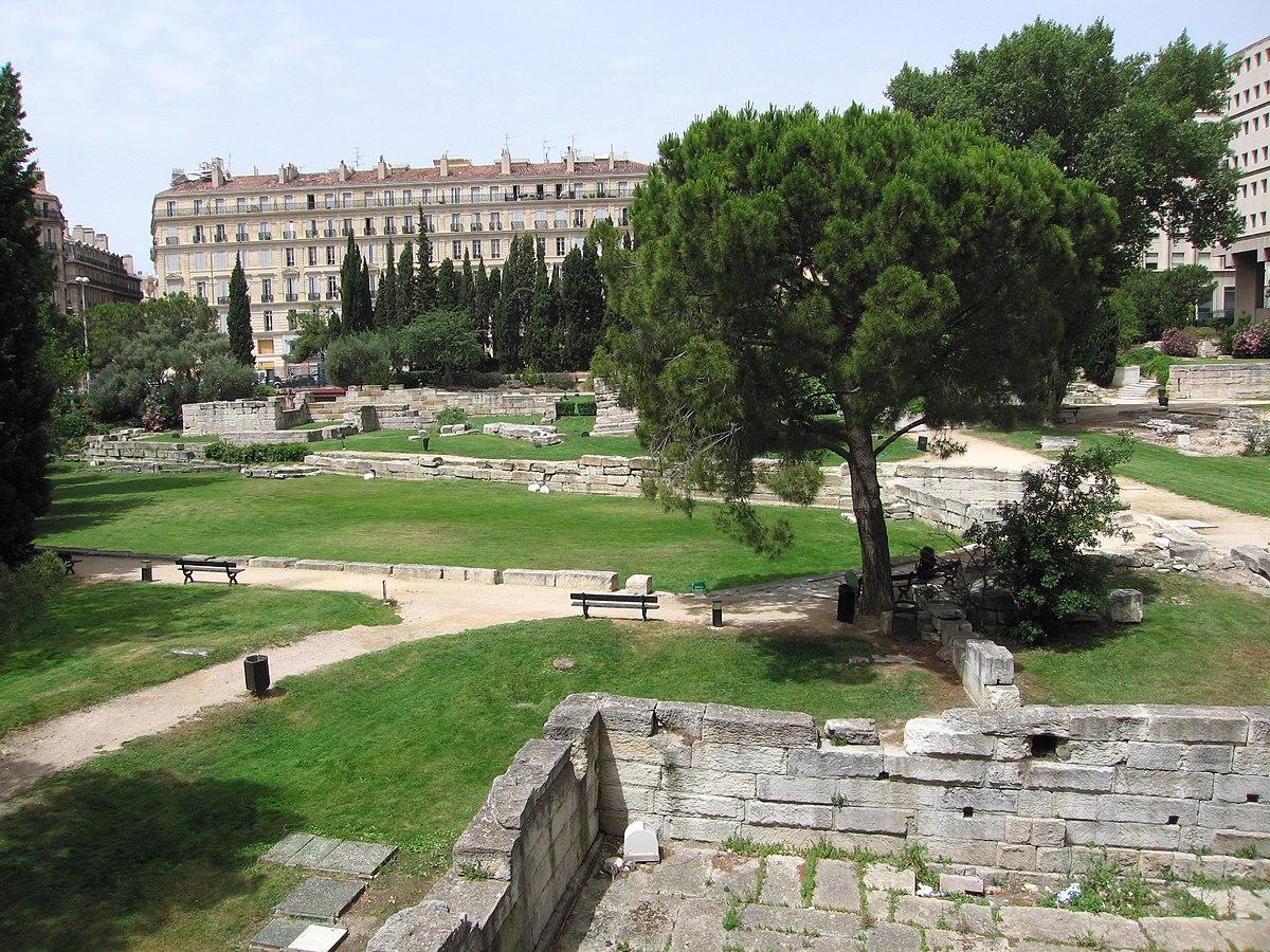 Jardin des Vestiges  Wikipdia