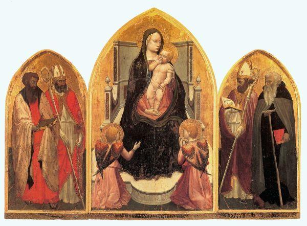 Religious Triptych Masaccio