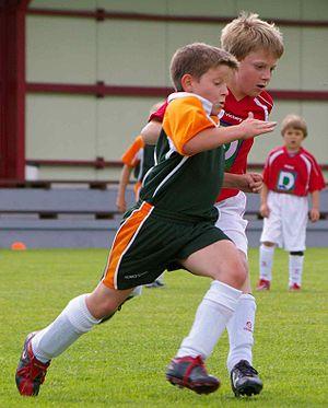 Deutsch: Fußballer U 10