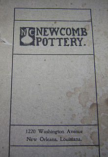 Newcomb Pottery Wikipedia