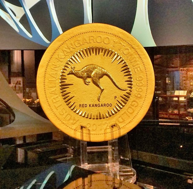Perth Mint - Joy of Museums - The One Tonne Gold Coin 2